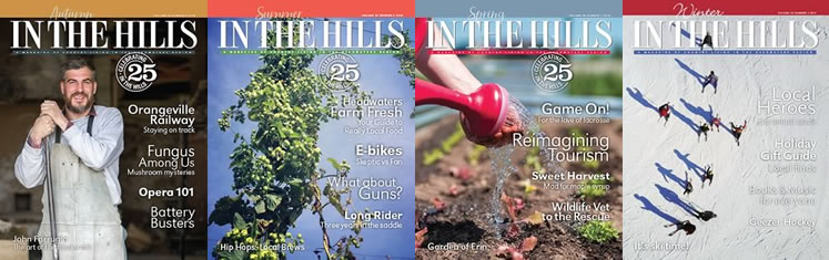 In The Hills Magazine Covers