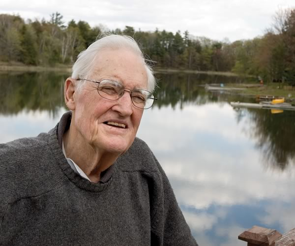 Alex Raeburn - 1912 - 2012. Photo by Pete Paterson.