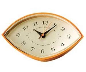 funky 70s Clock