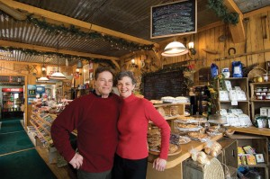 "At Rosemont General Store, Russell and Pam Stewart emphasize locally sourced ""comfort foods"" that appeal to the time-stressed, but health conscious and eco-aware residents of the modern countryside. Photo by Pete Paterson."