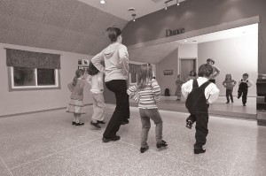 Young students refine their moves in Chanda Gibson's spacious studio in Orangeville. Photo by Pete Paterson.