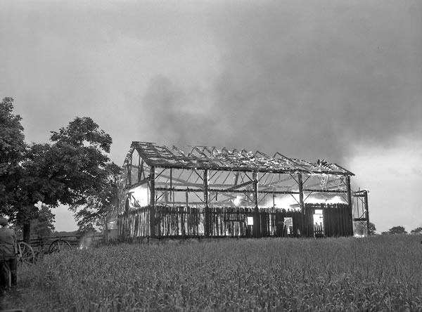 On January 6, 1897, Fenton's barn caught fire and his son was killed when the roof collapsed on him.Photo Courtesy Region Of Peel Archives