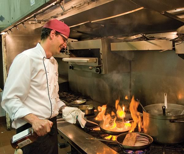 Chef Roberto Fracchioni puts a local spin on haute cuisine. Photo by Pete Paterson.