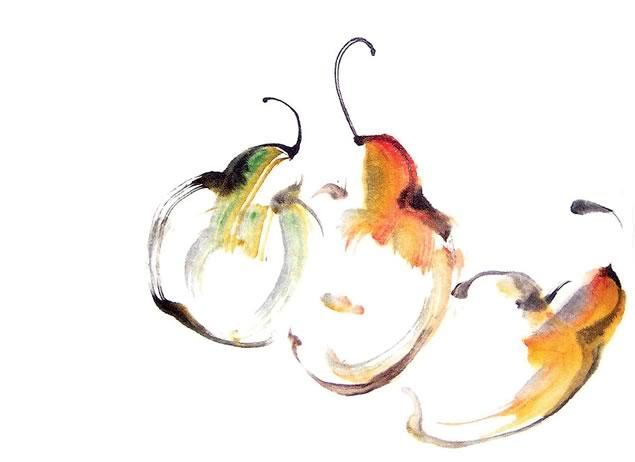 Roslyn Levin ~ Ripe Pears