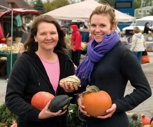 Karen Hutchinson & Jennifer Clark