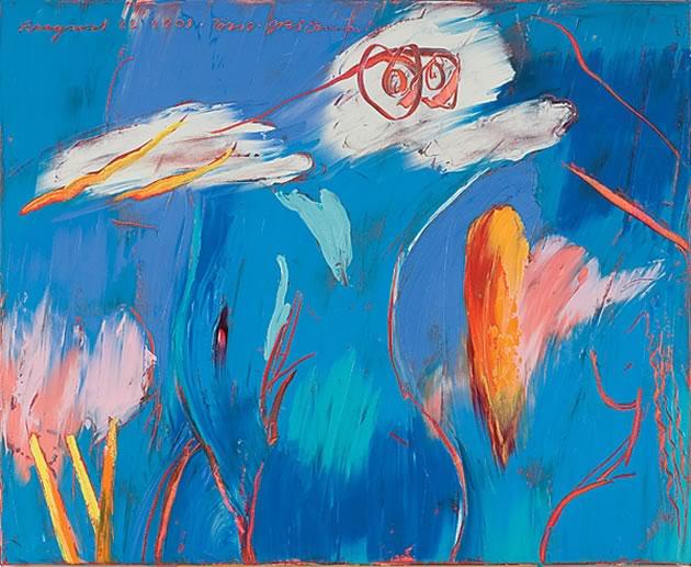 "Jim Stewart ~ Torso, 2008, 26"" x 32"" oil on canvas"