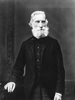 Liberal MP Scott: temperance enthusiast. Image courtesy of Region of Peel Archives