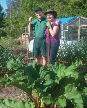 Russell and Linda Scott have been pursuing permaculture techniques for more than a decade on their Hockley Valley property. Russell also organizes workshops on the subject at the nearby Ecology Retreat Centre. Photo by Rosemary Hasner.