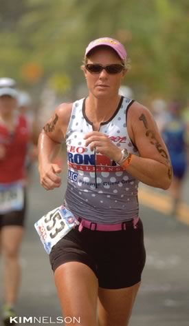 Kim has qualified five times for Ironman World Championships in Hawaii.