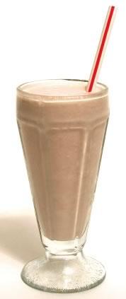 Steens Chocolate Milkshake