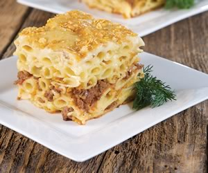 Pastichio-macaroni pie