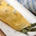 French Omelette Ready to Serve
