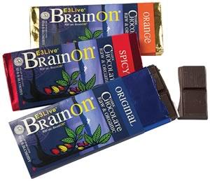 BrainOn chocolate bars