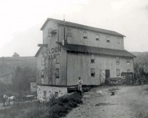 Mill courtesy Dufferin County Museum and Archives P-068A