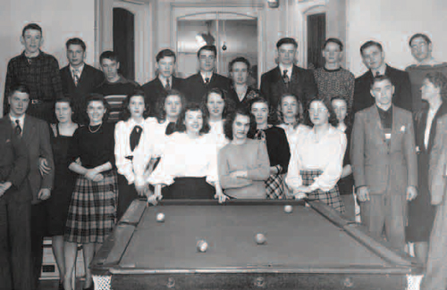 Maurice Cline regularly hosted Friday-night pool games at his home for the students.
