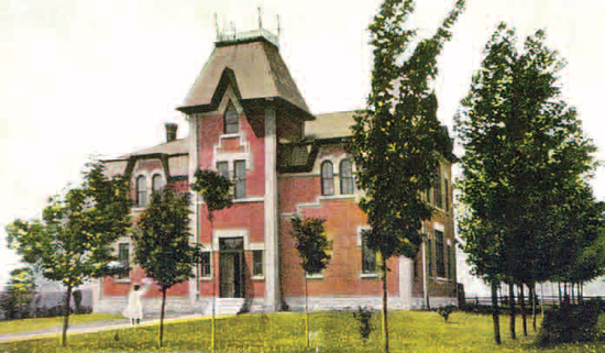 Orangeville High School, 1907.