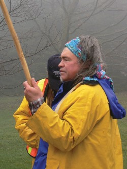 Native environmentalist Danny Beaton
