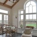 Early rising guests can help themselves to coffee and enjoy it in the light-filled breakfast room. Photo MK Lynde
