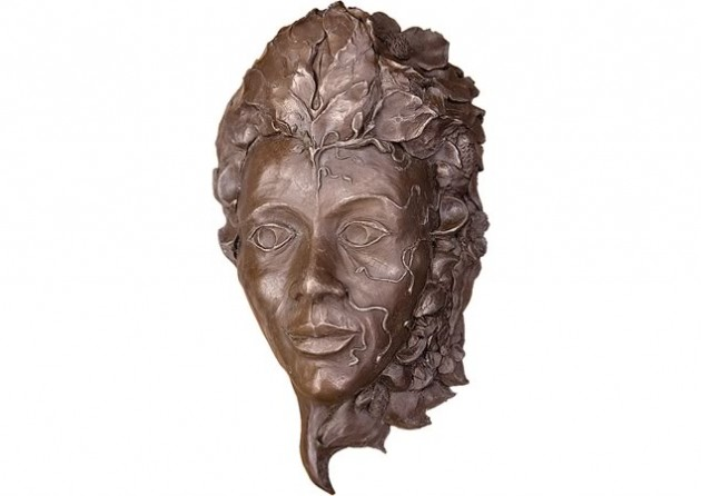 Out of Eden, cold cast bronze ~ John Ashbourne