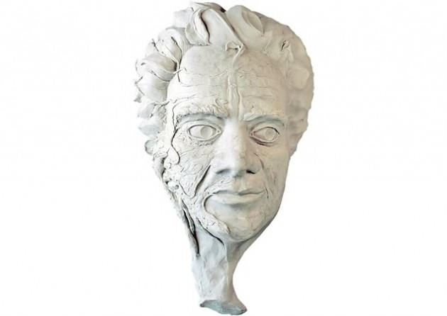 Man and Nature: Losing Touch, clay model for casting ~ John Ashbourne