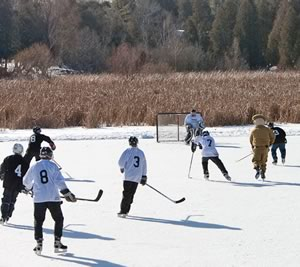 Come out and cheer on your hometown hockey team at the third annual Alton Millpond Hockey Tournament on January 28.
