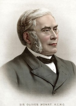 Ontario's premier Oliver Mowat