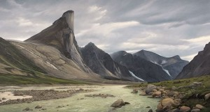 Mount Thor, 9' x 5'