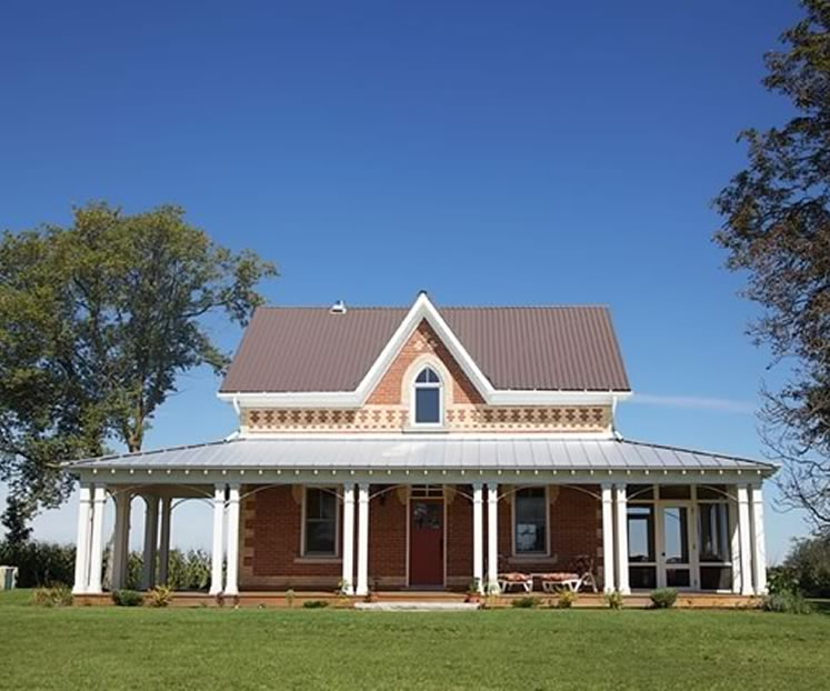 An Eco Revival For A Gothic Farmhouse