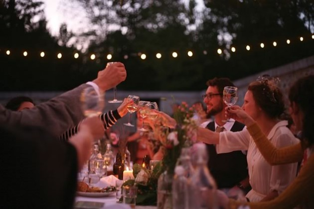 Spirit Tree's philosophy and style of food meshed perfectly with Hannah and James' vision for their wedding. Photos by Stephanie Ouellette and and Stine Danielle.