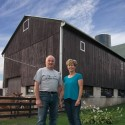 John and Marie Miller Their on-farm dairy promises not only a fresher product but one with more diversity and character. Photo by MK Lynde