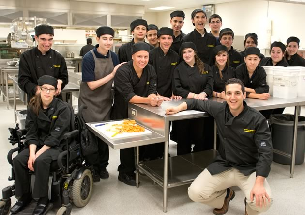 St. Michael culinary students