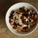 Pickled Cabbage with Chick Peas and Black Beans