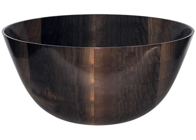 A Tree's Story black walnut salad bowl