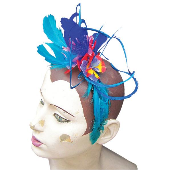 Naomi Dyon ~ Feathered hat