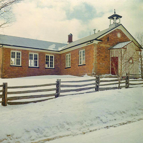Stanton School : This photo of the school was taken before Bill and Irene Knisley began the renovations that would turn it into their retirement home. The original school was built in 1868 and the second room at the back in the 1880s. Photo courtesy of Irene Knisley.