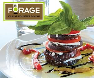 Forage Restaurant Orangeville Vegetable Tower