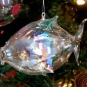 This translucent ornament was purchased in Hilton Head, South Carolina where ocean motifs abound. Photo by Pete Paterson.