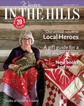 2013 cover of In the Hills magazine