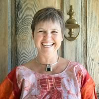 Author, Julie Suzanne Pollock. Photo by Pete Paterson.
