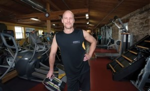 André Leitert, owner of Riverdale Fitness Mill, says using good equipment with proper coaching assists multi-muscle workout. Photo by Rosemary Hasner / Black Dog Creative Arts.