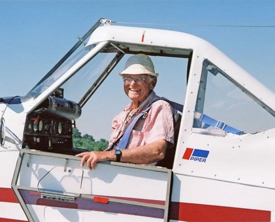 Jock is a rare Three Diamond pilot, each diamond an internationally recognized symbol for an outstanding powerless flight.