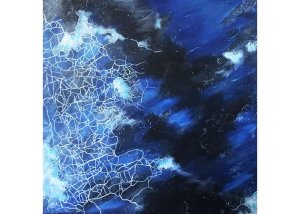 """Frost"" by Club Art treasurer Emily Haws."