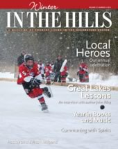 2014 cover of In the Hills magazine