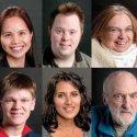 Gerelyn Tabsing, Travis Grist, Kathy Bloomfield, Paul Rutledge, Rumina Morris, John Franklin (deceased).