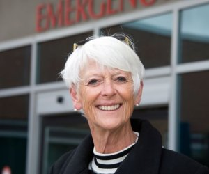 Over her more than 35 years in health care, Ronnie (Veronica) Inglis touched many lives. Photo by Pete Paterson.