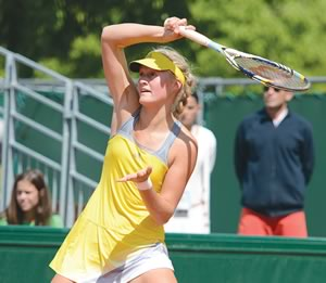 Caledon's Erin Routliffe is poised to become one of Canada's new superstars. Courtesy Tennis Canada.