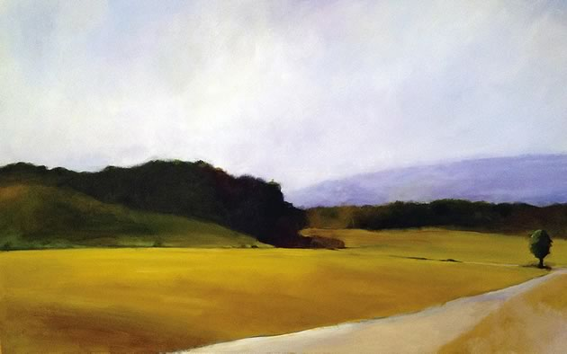 "The Journey Continues, 30 x 60"" ~ John Adams"