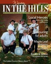 2015 cover of In the Hills magazine