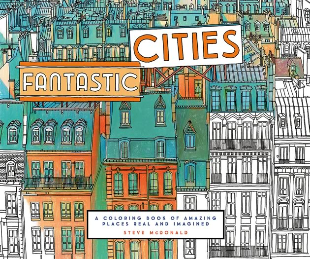 Fantastic Cities: The book has sold more than a quarter million copies worldwide since August.