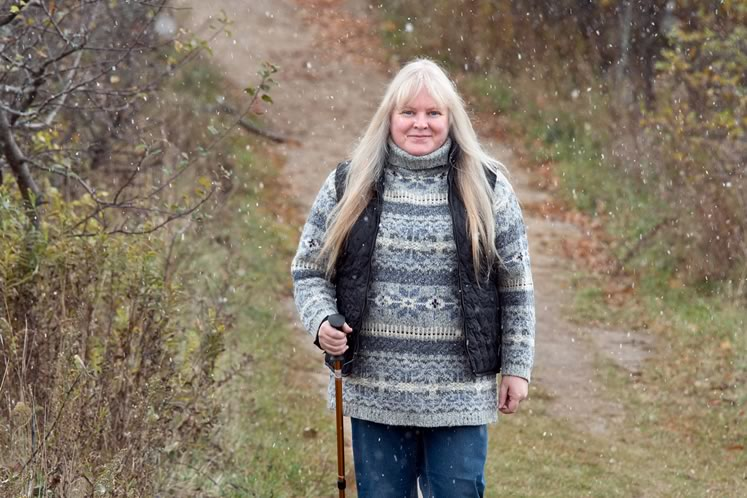 Colleen Darrell a trailblazing volunteer. Photo by Pete Paterson.